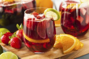 Sangria made with Orchard Breezin'