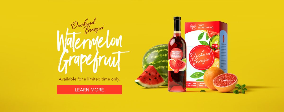 Orchard Breezin' Limited Release Watermelon Grapefruit